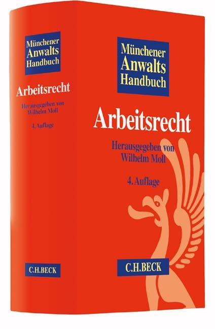 Münchener Anwaltshandbuch Arbeitsrecht | 4., überarbeitete und erweiterte Auflage, 2016 | Buch (Cover)
