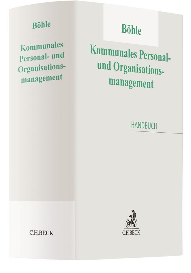 Kommunales Personal- und Organisationsmanagement   Böhle, 2017   Buch (Cover)