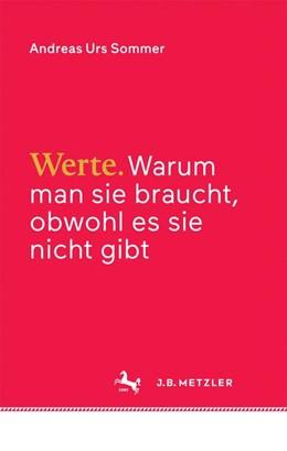 Abbildung von Sommer   Werte   1. Auflage   2016   beck-shop.de