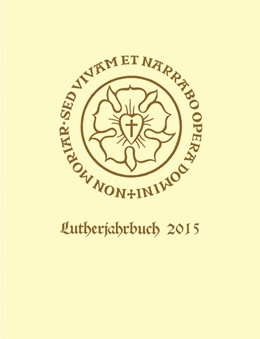 Abbildung von Spehr   Lutherjahrbuch 82. Jahrgang 2015   1. Auflage   2015   beck-shop.de