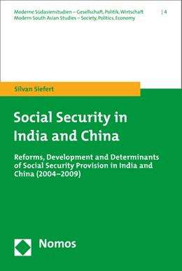 Abbildung von Siefert | Social Security in India and China | 1. Auflage | 2015 | 4 | beck-shop.de