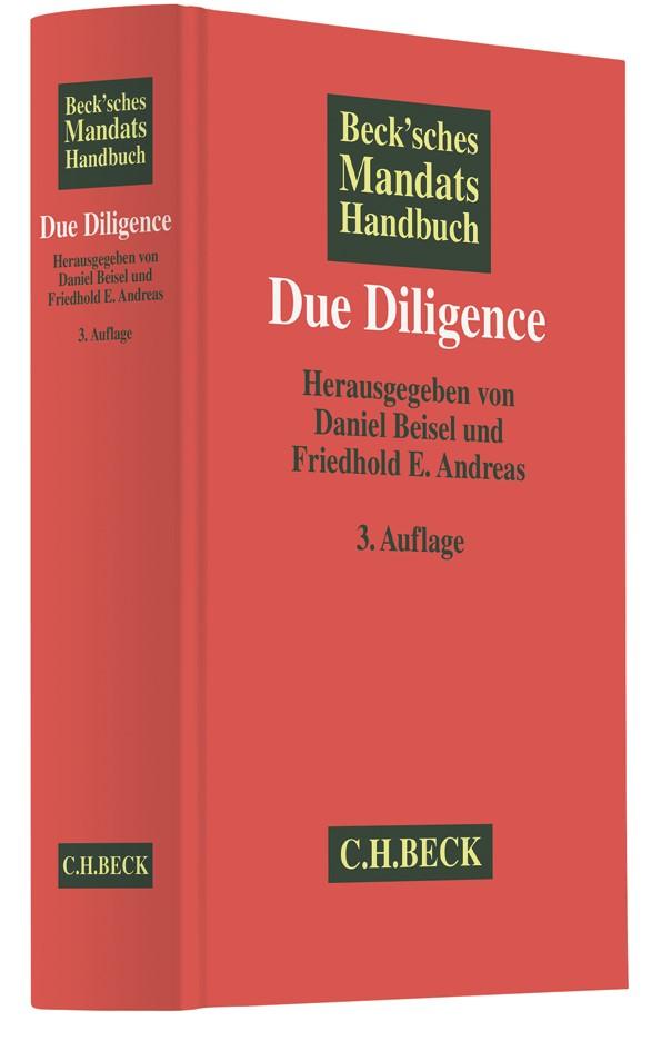 Beck'sches Mandatshandbuch Due Diligence   3., aktualisierte und erweiterte Auflage, 2017   Buch (Cover)