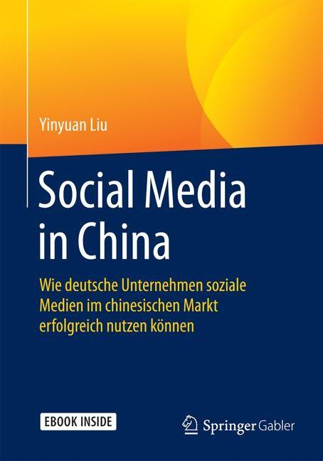 Social Media in China | Liu, 2016 | Buch (Cover)