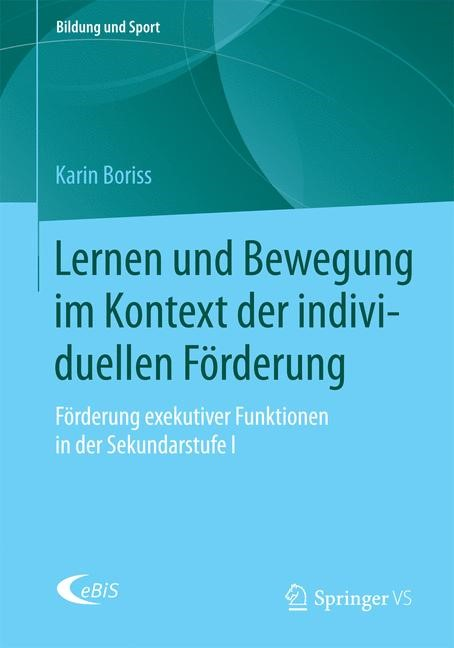 Lernen und Bewegung im Kontext der individuellen Förderung | Boriss, 2015 | Buch (Cover)