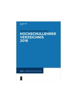 Abbildung von Deutscher Hochschulverband | Universitäten Deutschland | 24th Edition | 2016 | eBookPlus