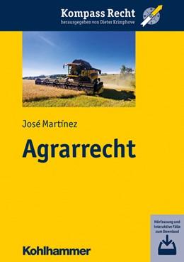 Abbildung von Martínez | Agrarrecht | 2020