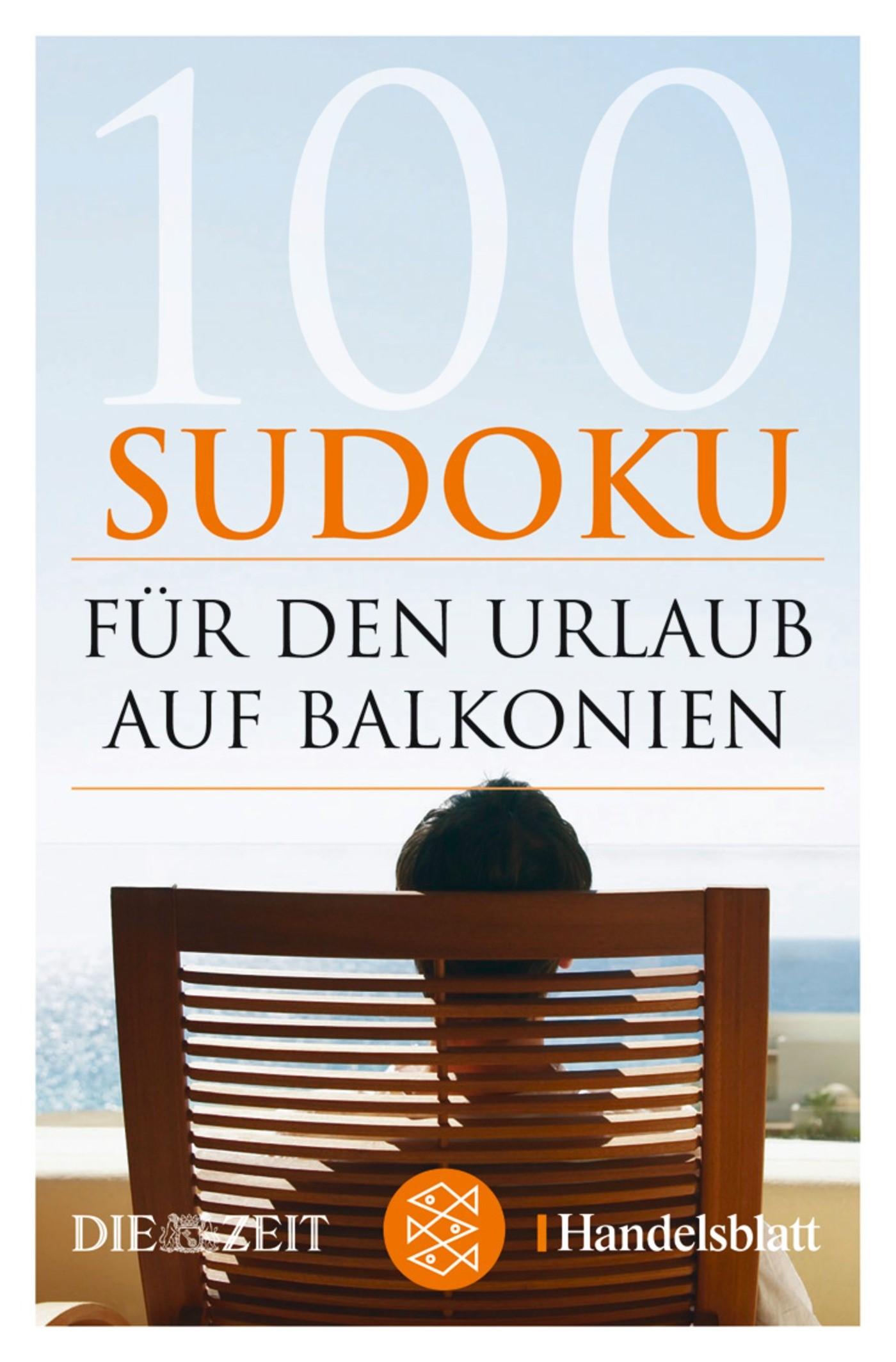 100 Sudoku für den Urlaub auf Balkonien | 1. Auflage, 2007 | Buch (Cover)