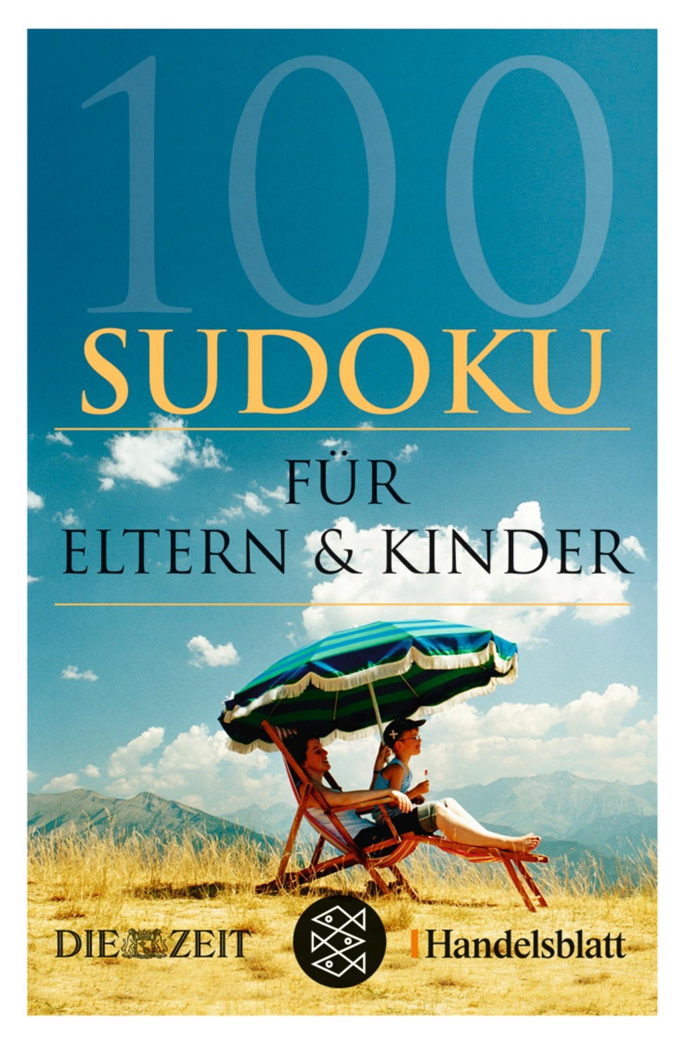 100 Sudoku für Eltern & Kinder, 2007 | Buch (Cover)