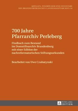 Abbildung von Czubatynski | 700 Jahre Pfarrarchiv Perleberg | 1. Auflage | 2015 | 34 | beck-shop.de