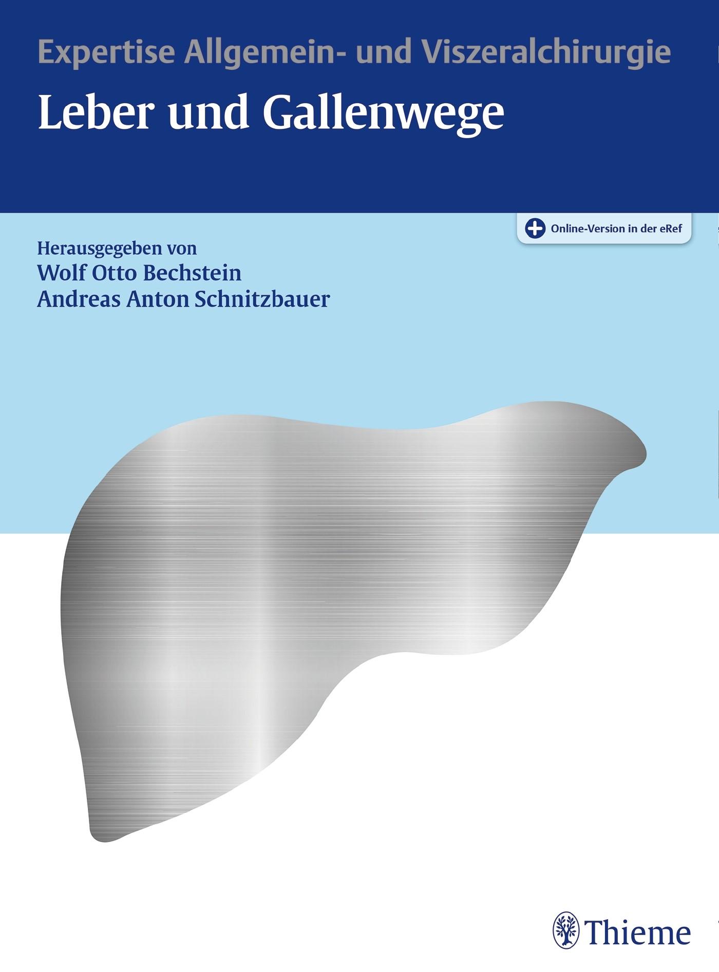 Leber und Gallenwege | Bechstein / Schnitzbauer (Hrsg.), 2018 (Cover)