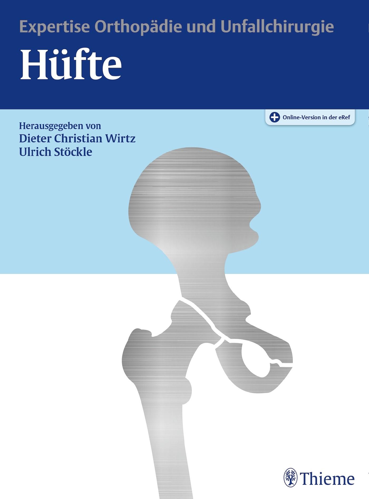 Hüfte | Wirtz / Stöckle (Hrsg.), 2017 (Cover)