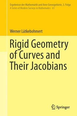 Abbildung von Lütkebohmert | Rigid Geometry of Curves and Their Jacobians | 1. Auflage | 2016 | 61 | beck-shop.de