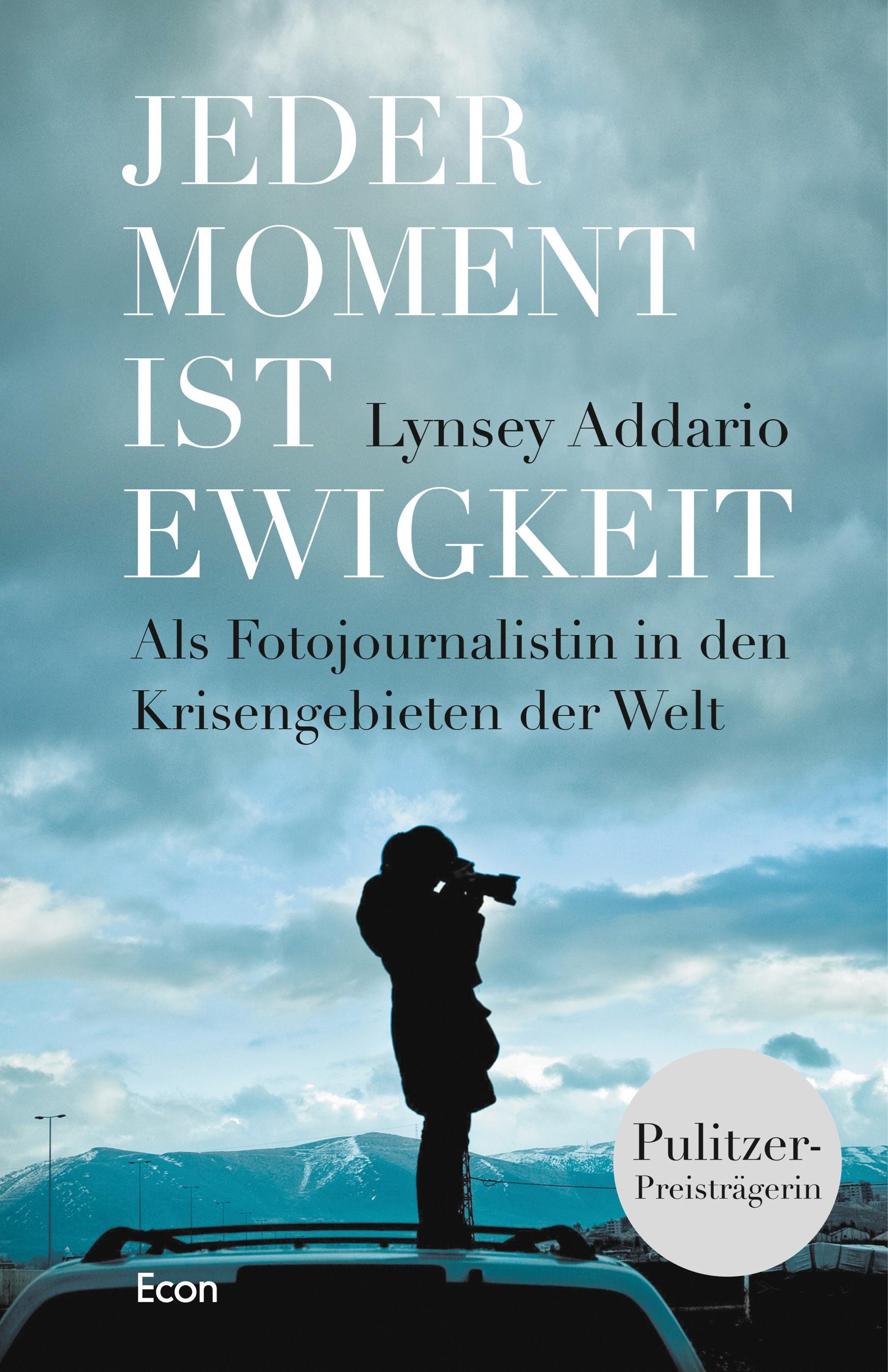 Jeder Moment ist Ewigkeit | Addario, 2016 | Buch (Cover)