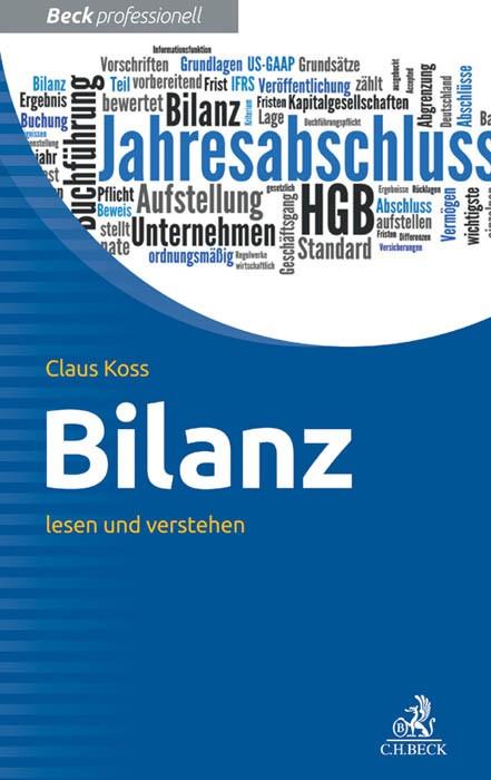 Bilanz | Koss, 2016 | Buch (Cover)