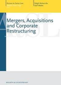 Mergers, Acquisitions & Corporate Restructuring | Malacrida / Watter | Buch (Cover)