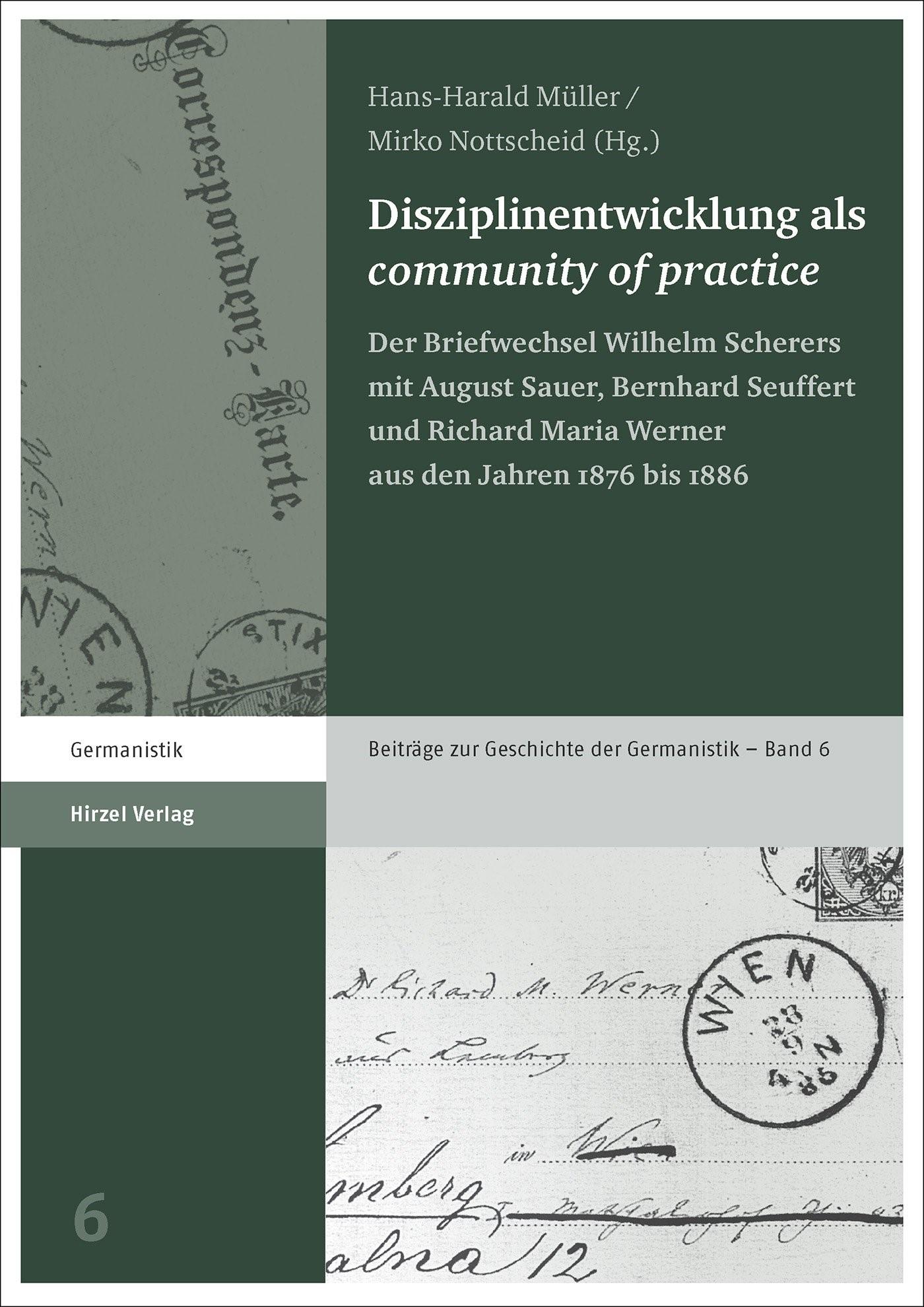 "Disziplinentwicklung als ""community of practice"" | Müller / Nottscheid, 2015 | Buch (Cover)"