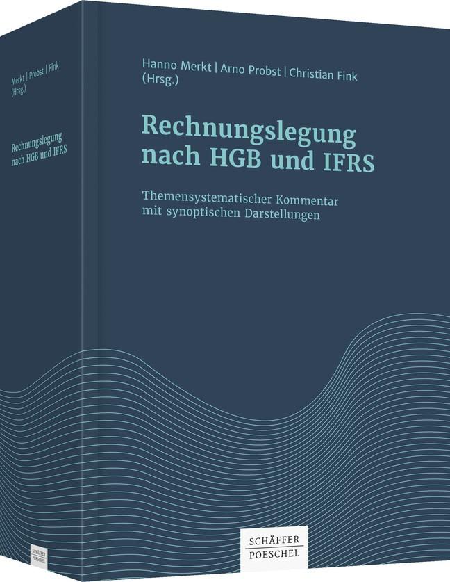 Rechnungslegung nach HGB und IFRS | Merkt / Probst / Fink (Hrsg.), 2017 | Buch (Cover)