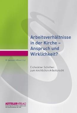 Abbildung von Oxenknecht-Witzsch | Eichstätter Schriften zum kirchlichen Arbeitsrecht | 1. Auflage | 2015 | beck-shop.de