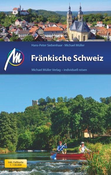 Fränkische Schweiz | Müller / Siebenhaar | 11., komplett überarbeitete Auflage, 2016 | Buch (Cover)