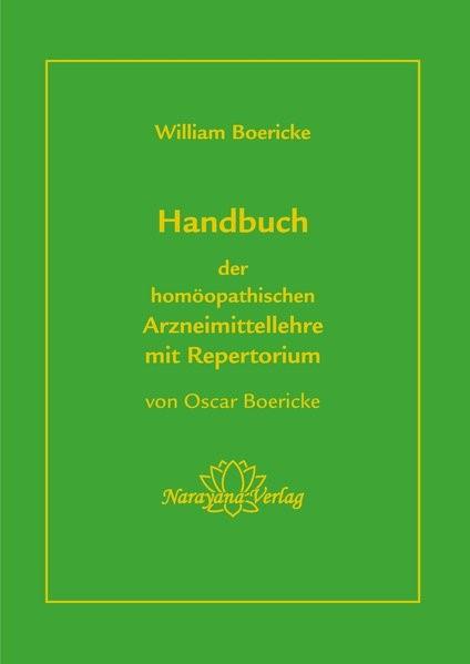 Abbildung von Boericke | Handbuch der homöopathischen Arzneimittellehre mit Repertorium | 2018