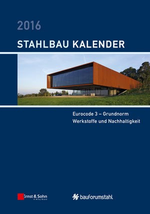 Stahlbau-Kalender 2016 | Kuhlmann (Hrsg.), 2016 (Cover)