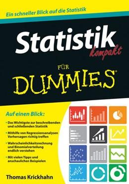 Abbildung von Krickhahn / Poß | Statistik kompakt für Dummies | 1. Auflage | 2016 | beck-shop.de