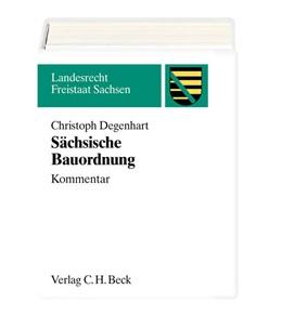 Abbildung von Degenhart | Sächsische Bauordnung | 3. Auflage | 2002 | Kommentar