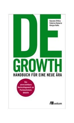 Abbildung von d´Alisa / Demaria   Degrowth   1. Auflage   2016   beck-shop.de