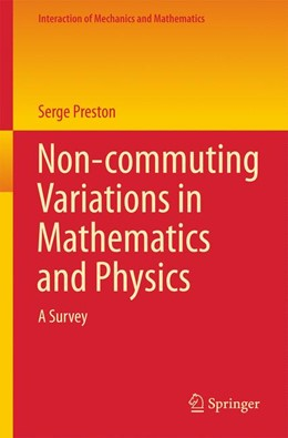 Abbildung von Preston | Non-commuting Variations in Mathematics and Physics | 1st ed. 2016 | 2016 | A Survey