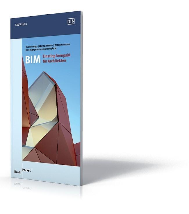 BIM - Einstieg kompakt für Architekten | Heinemann / Hennings / Mombour, 2018 | Buch (Cover)