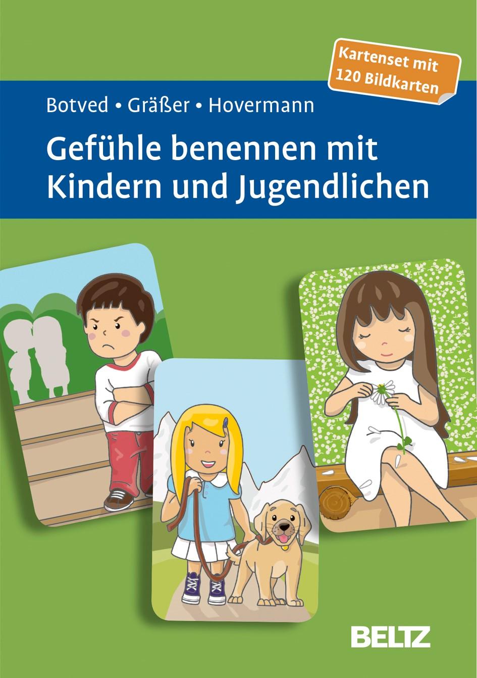 Gefühle benennen mit Kindern und Jugendlichen | Botved / Gräßer / Hovermann jun., 2016 (Cover)