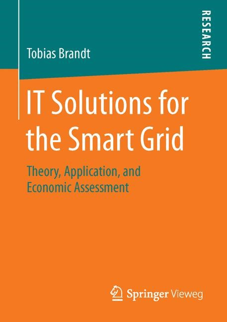 IT Solutions for the Smart Grid | Brandt | 1st ed. 2016, 2016 | Buch (Cover)