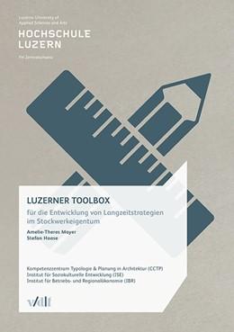 Abbildung von Luzerner Toolbox | 1. Auflage | 2015 | beck-shop.de