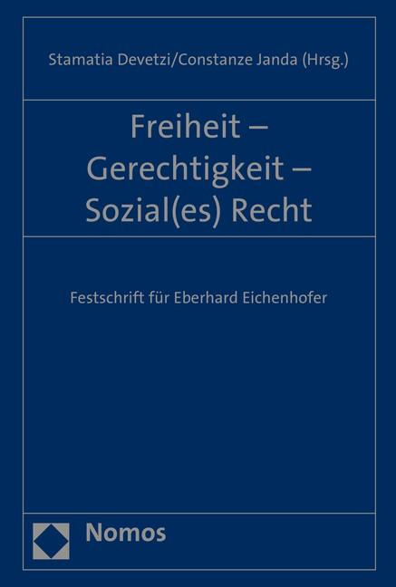 Freiheit - Gerechtigkeit - Sozial(es) Recht | Devetzi / Devetzi / Janda, 2015 | Buch (Cover)