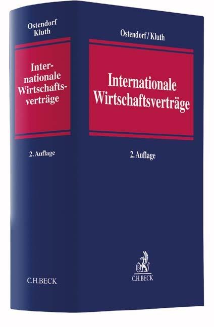 Internationale Wirtschaftsverträge | Ostendorf / Kluth | 2. Auflage, 2016 | Buch (Cover)