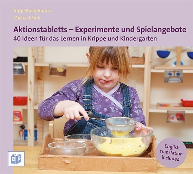 Aktionstabletts - Experimente und Spielangebote | Bostelmann / Fink | 5. Auflage, 2015 | Buch (Cover)