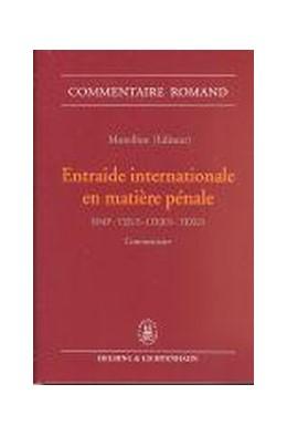 Abbildung von Moreillon | Entraide internationale en matière pénale | 2004 | Loi sur l'entraide internation...