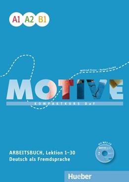 Abbildung von Krenn / Puchta | Motive A1-B1. Arbeitsbuch, Lektion 1-30 mit MP3-Audio-CD | 1. Auflage | 2016 | beck-shop.de