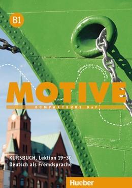Abbildung von Krenn / Puchta   Motive B1. Kursbuch. Lektion 19-30   1. Auflage   2016   beck-shop.de