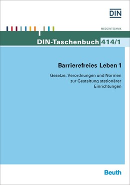 Abbildung von Barrierefreies Leben 1 | 2015 | Gesetze, Verordnungen und Norm... | 414/1