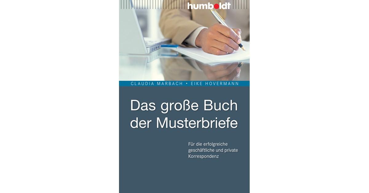 Das Große Buch Der Musterbriefe Hovermann 7 Auflage 2015