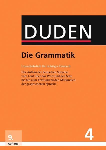 Die Grammatik | 9., vollständig überarbeitete und aktualisierte Auflage, 2016 | Buch (Cover)