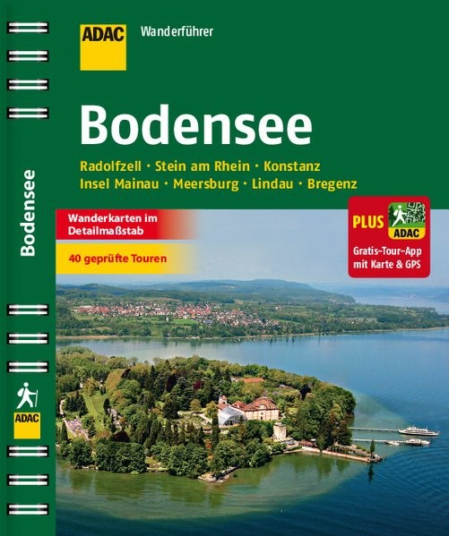 Abbildung von ADAC Wanderführer Bodensee inklusive Gratis Tour App | 2016