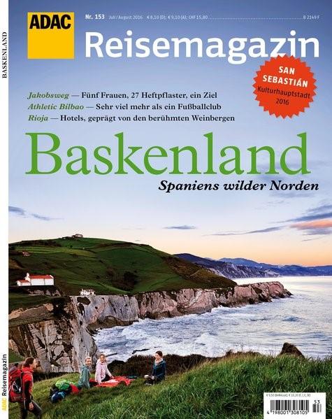 ADAC Reisemagazin Baskenland, 2016 | Buch (Cover)