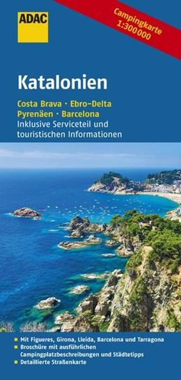 Abbildung von ADAC Campingkarte Katalonien | 1. Auflage | 2016 | Costa Brava - Ebro-Delta - Pyr...