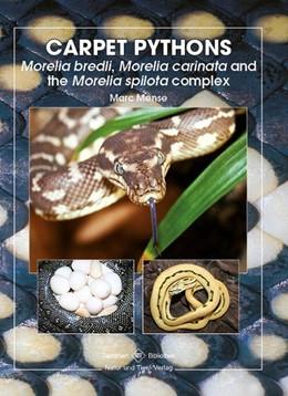 Abbildung von Mense   Carpet Pythons   2015   Moralia bredli, Moralia carina...