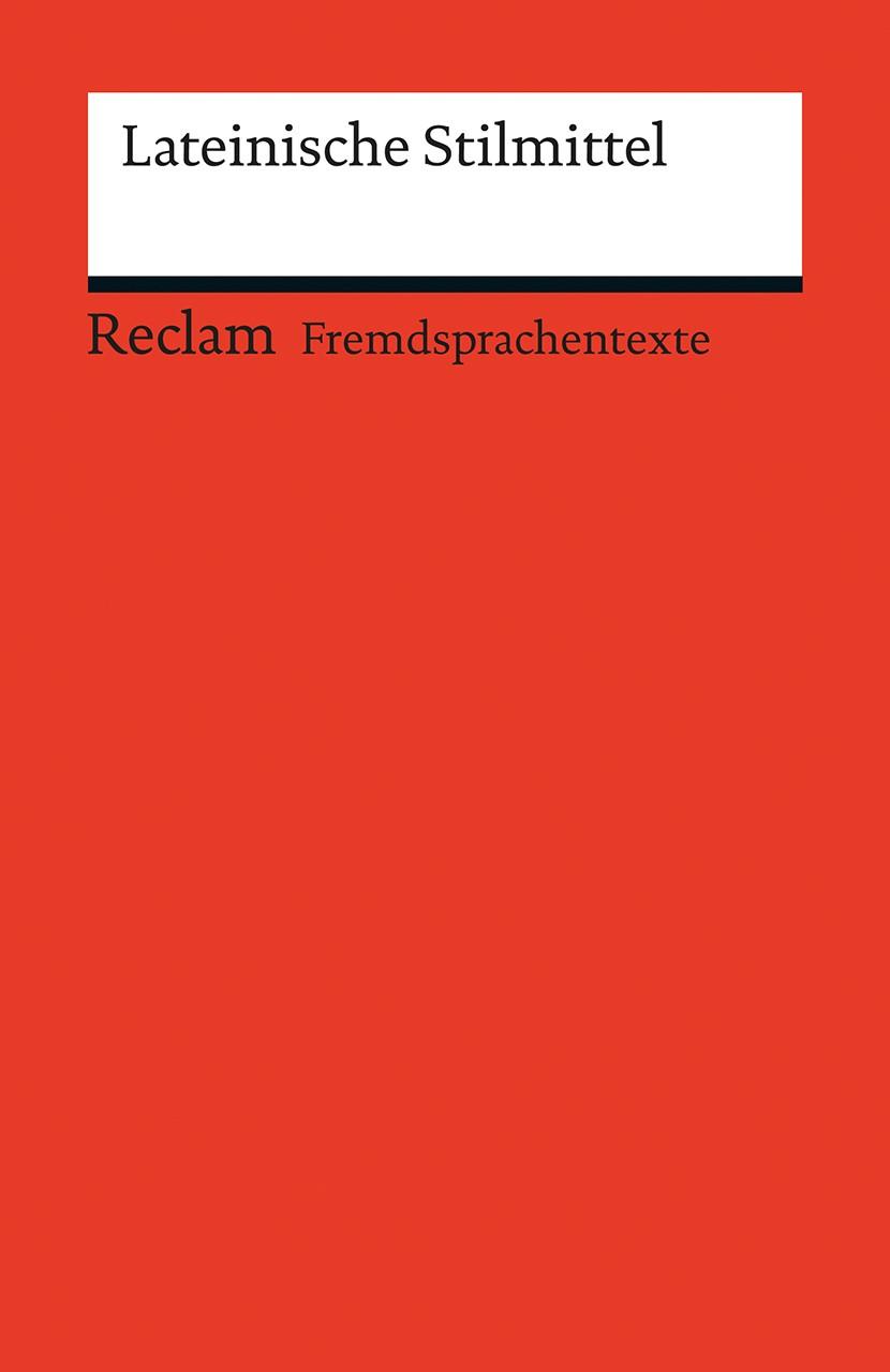 Lateinische Stilmittel | Bradtke, 2016 | Buch (Cover)