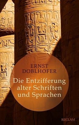 Abbildung von Doblhofer | Die Entzifferung alter Schriften und Sprachen | 2016 | 20415