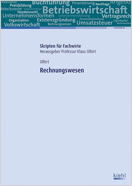 Rechnungswesen | Olfert, 2016 | Buch (Cover)