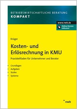 Abbildung von Krüger   Kosten- und Erlösrechnung in KMU   1. Auflage   2016   beck-shop.de